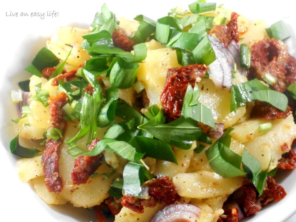 KartofffelnBärlauchTomatenSalat