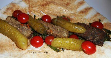 Veganes Shawarma